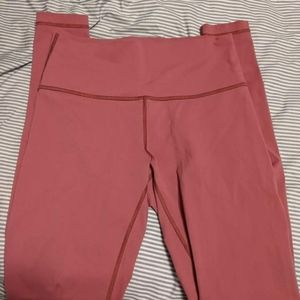 Lululemon Wunder Under High Rise Full on Luon TALL